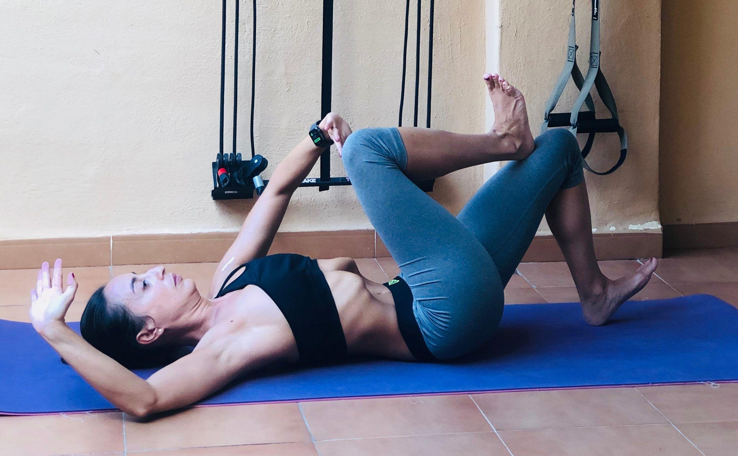 Ejecución de la posición de Demeter Abdominales Hipopresivos